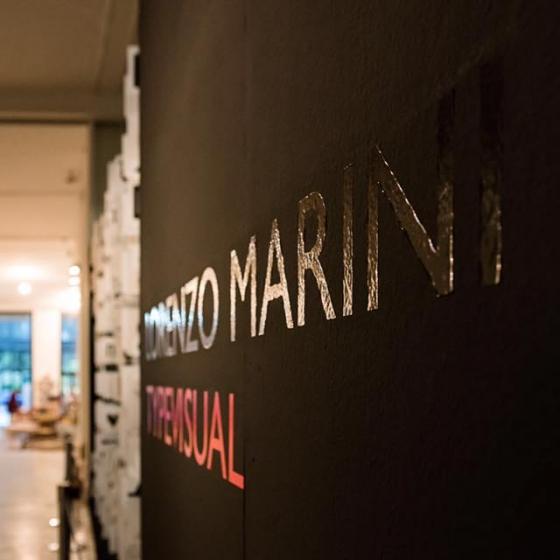 Typevisual al Museo della Permanente di Milano