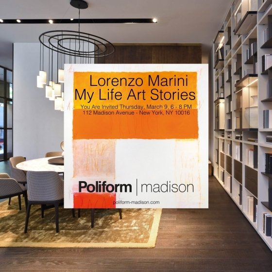 My Life Art Stories – Poliform Madison