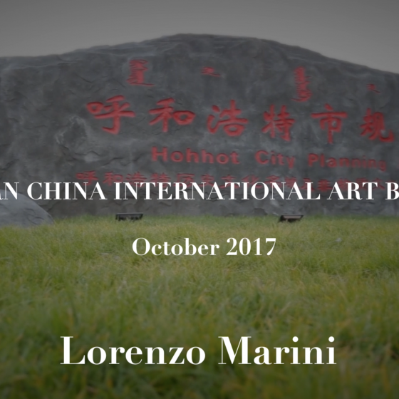 Biennale Western China: il video racconto