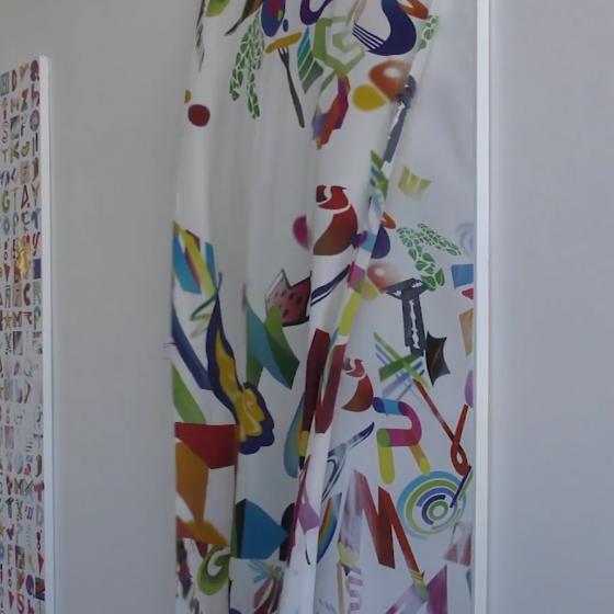 La grafica incontra l'arte contemporanea nelle opere di Lorenzo Marini